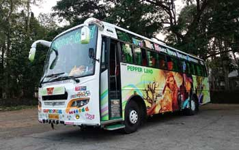 tourist bus cochin